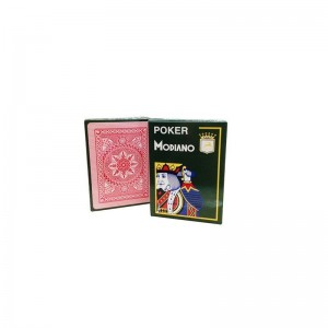 MODIANO Τράπουλα Poker Κόκκινο