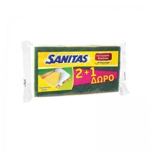 SANITAS Σφουγγαράκι Μεγάλης...