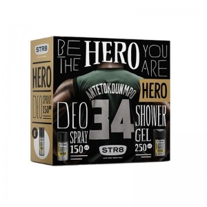 STR8 Hero Set Deo Spray...