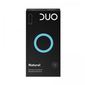 DUO Προφυλακτικά Natural 12τμχ