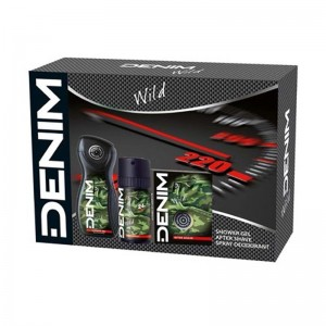 DENIM Set Wild After Shave...
