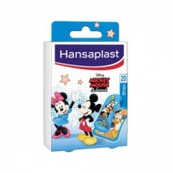 HANSAPLAST Mickey & Friends Παιδικά Αυτοκόλλητα Επιθέματα 20τμχ