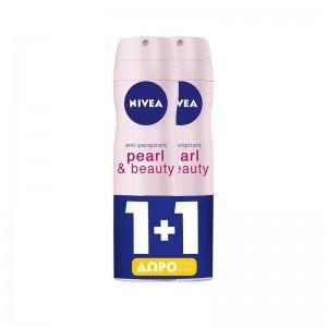 NIVEA Deo Spray Pearl &...