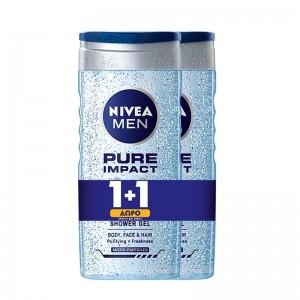 NIVEA Men Αφρόλουτρο Pure...