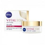 NIVEA Vital Αντιρυτιδική Κρέμα Ημέρας με Σόγια 50ml