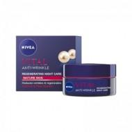 NIVEA Vital Κρέμα Νύχτας για Αναδόμηση 50ml