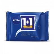 NIVEA Μαντηλάκια Καθαρισμού Προσώπου Creme Care 20τμχ 1+1 ΔΩΡΟ