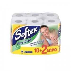 SOFTEX Χαρτί Υγείας Pure &...