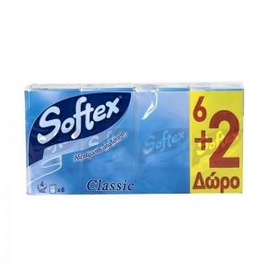 SOFTEX Χαρτομάντηλα Classic...