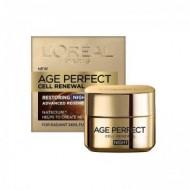 L'OREAL Age Perfect Κρέμα Νυκτός Κυτταρική Ανάπλαση 50ml