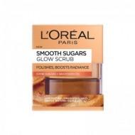 LOREAL Smooth Sugar Scrub Λάμψης 50ml