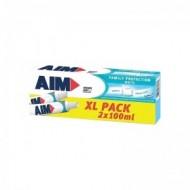 AIM Οδοντόκρεμα Family Protection White 2x100ml
