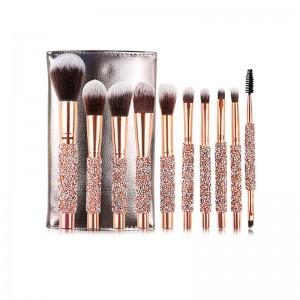 Set Makeup Brushes Diamond...