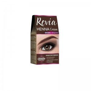 REVIA Henna για τα Φρύδια Καφέ