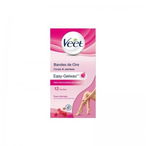 VEET Strips Body Normal 12s