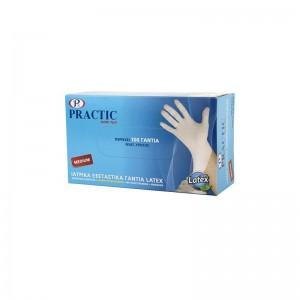 PRACTIC Γάντια Latex Medium...