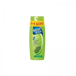WASH&GO Shampoo Oily 400ml...