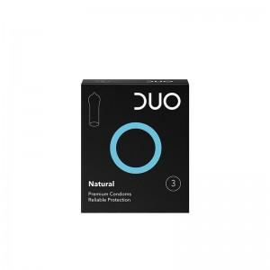 DUO Προφυλακτικά Natural 3τμχ