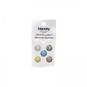 TRENDY Swarovski Marbled...