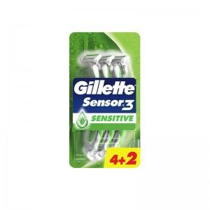 GILLETTE Sensor 3 Sensitive...