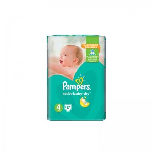 PAMPERS Active Baby Dry No4...