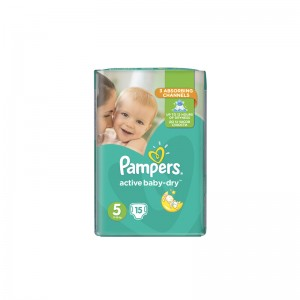 PAMPERS Active Baby Dry No5...