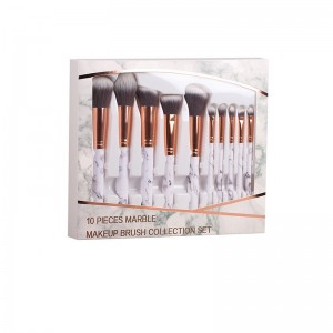 Marble Make-up Brush Set 10...