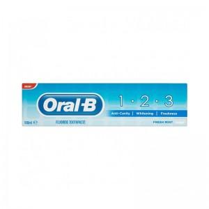ORAL B Οδοντόκρεμα 1-2-3 100ml