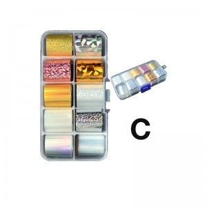 CANNI Transfer Foil Box C...