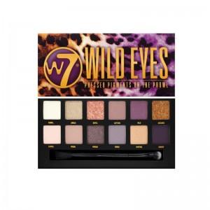 W7 Wild Eyes Eyeshadow Palette