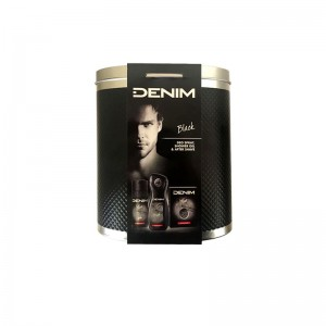 DENIM Black Men's Gift Set...