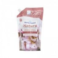 PAPOUTSANIS Κρεμοσάπουνο Natura Almond Cream Refill 750ml