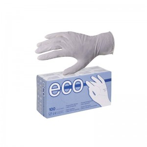 ECO Γάντια Latex Medium 100...