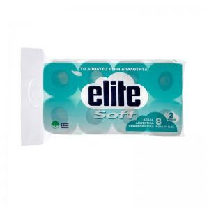 Elite Χαρτί Υγείας 2φυλλο 8πλο