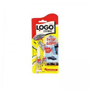 LOGO Κόλλα Στιγμής 2gr+1gr...