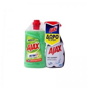 AJAX Ultra 7 Λεμόνι 1lit +...