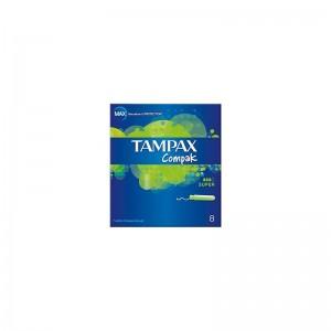 TAMPAX Compak Super 8s