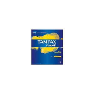TAMPAX Compak Regular 8s
