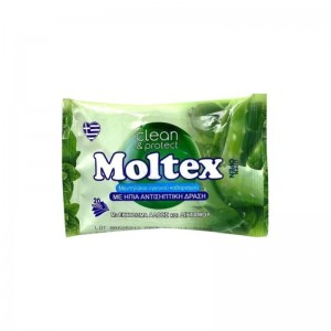 MOLTEX Μαντηλάκια Με Ήπια...