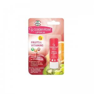 GOLDEN ROSE Lipbalm Fruits...